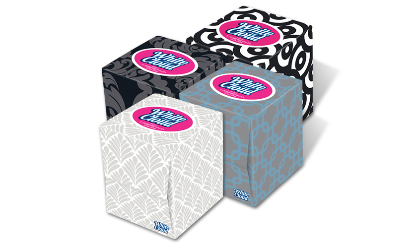 White Cloud Facial Tissue