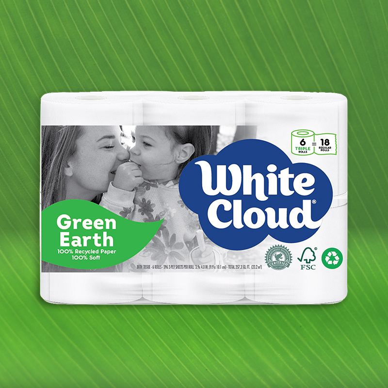 GreenEarth® Bath Tissue